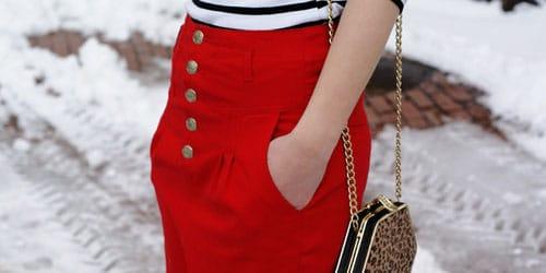 видеть во сне красную юбку