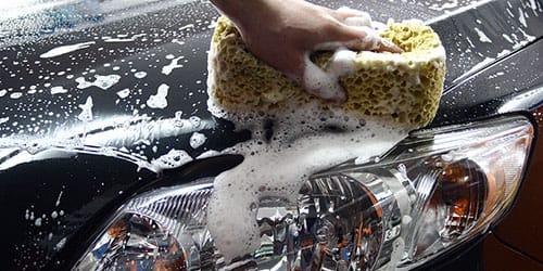 мыть фары