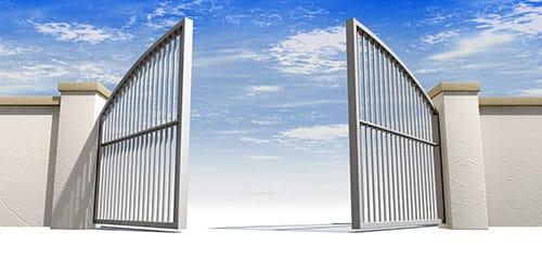 видеть во сне открытые ворота
