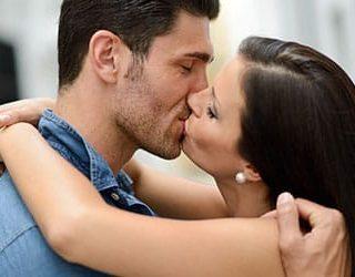 Поцелуй мужчины