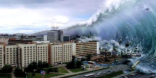 к чему снится потоп наводнение