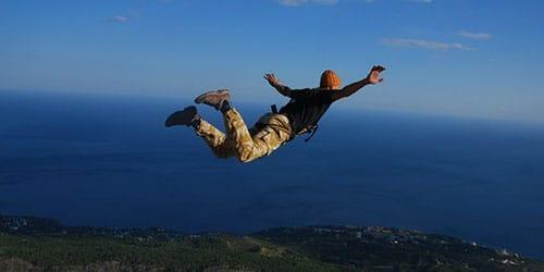прыжок с высоты во сне