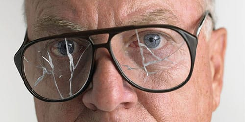 треснутые стекла
