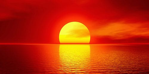 видеть во сне закат солнца