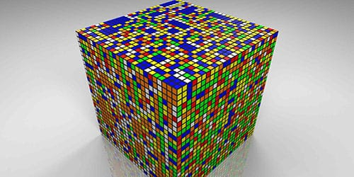 большой куб