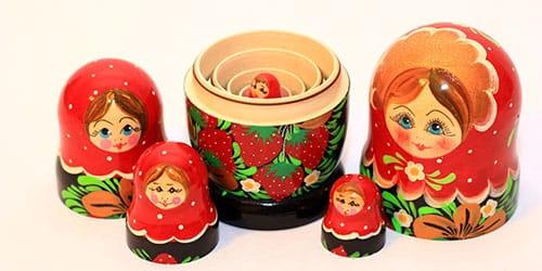 куклы из дерева