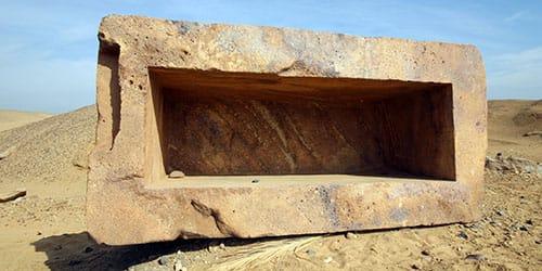 пустой саркофаг