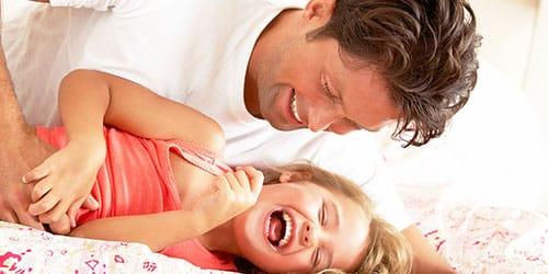 к чему снится щекотать ребенка