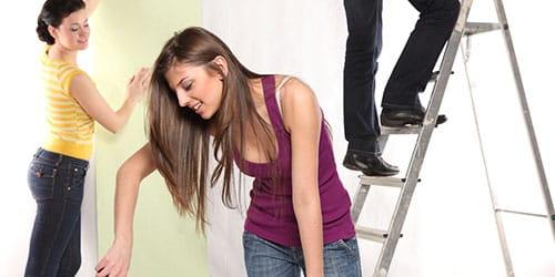 раздвижная лестница