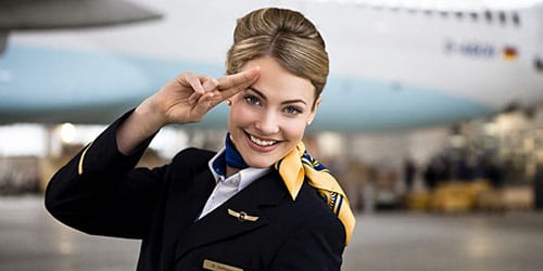 к чему снится стюардесса