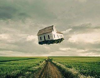 Сонник летающий дом