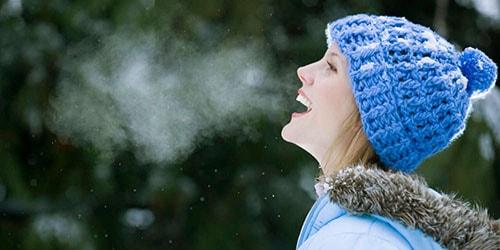 дыхание на морозе
