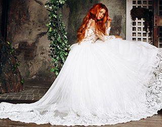 Свадебное платье на замужней женщине