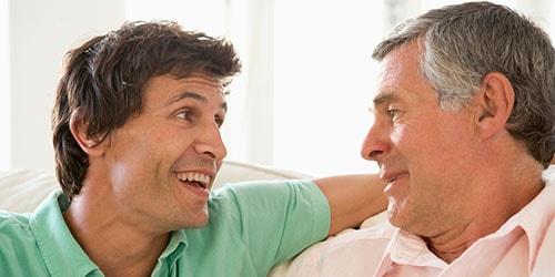 разговор мужчин
