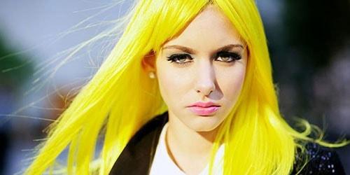 к чему снятся желтые волосы девушке