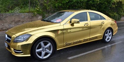 видеть во сне машину золотого цвета