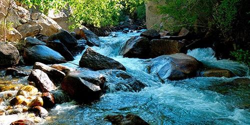 поток воды