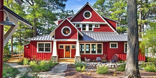 к чему снится новый красный дом