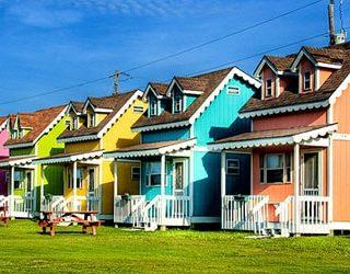 Много домов
