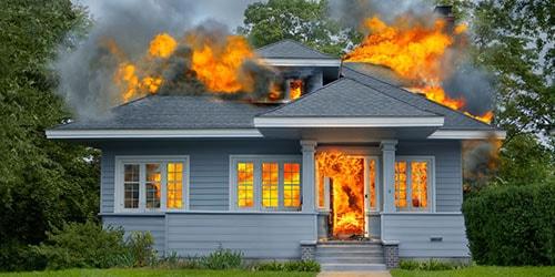 к чему снится много сгоревших домов