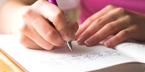 к чему снится писать сочинение