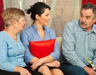 Родители бывшей