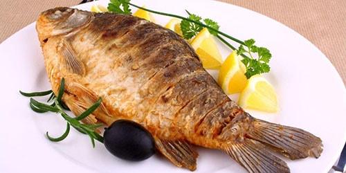 жареная рыбка