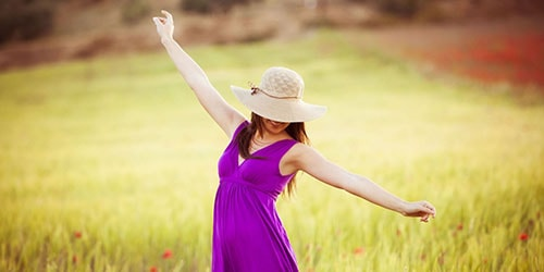 видеть во сне фиолетовое платье на себе