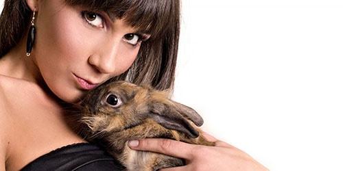 держать кролика на руках во сне