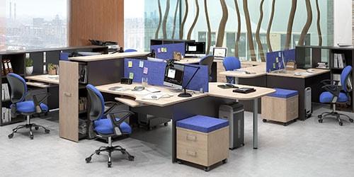 к чему снится много столов в офисе