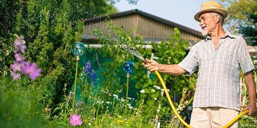 к чему снится поливать из шланга огород