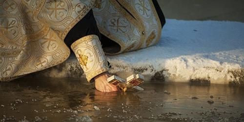 зимнее крещение