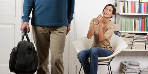 муж уходит к другой женщине