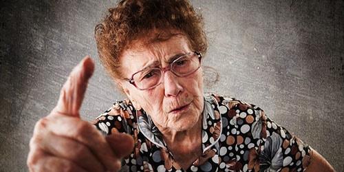 ссора с бабушкой во сне