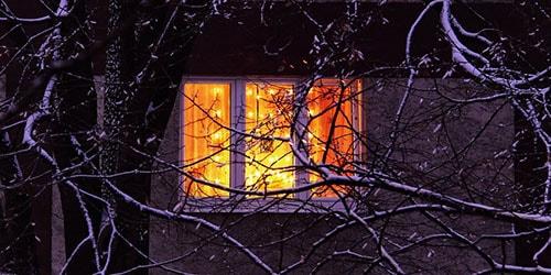 к чему снится свет в окне дома