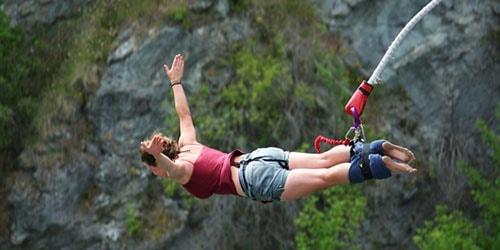 прыжок с высоты