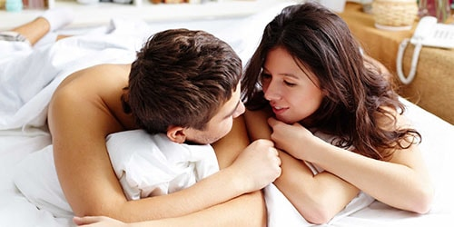 проснуться с мужчиной