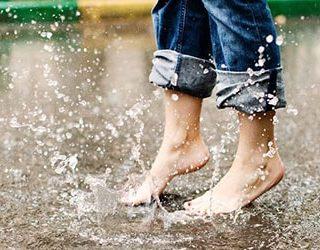 Босиком под дождем