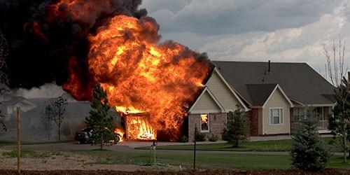 к чему снится горящий дом соседей