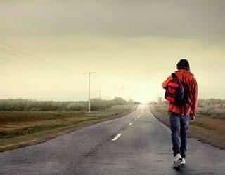 Идти вдоль дороги