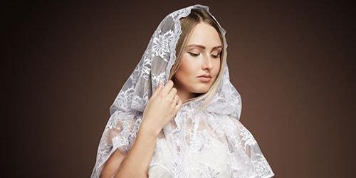 к чему снится белый платок на голове