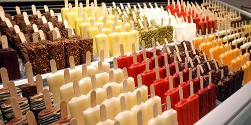 покупать мороженое в магазине во сне