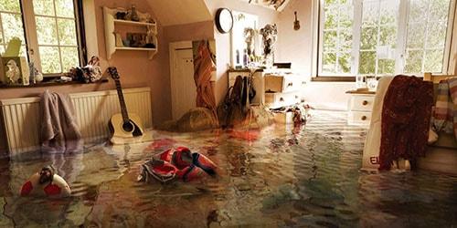 видеть во сне потоп в квартире