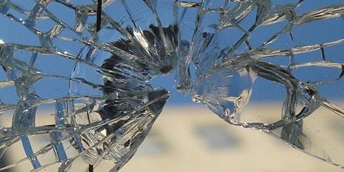 битое стекло