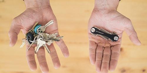 много ключей