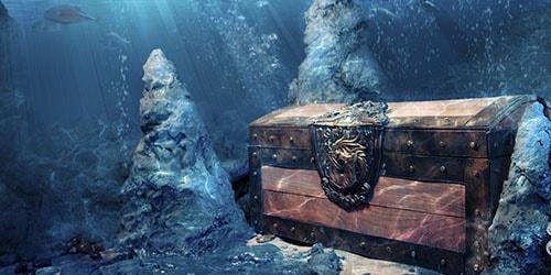 сокровища под водой