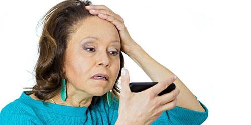 терять волосы