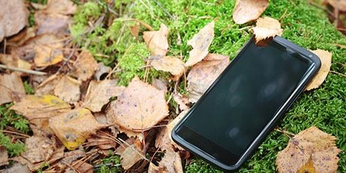 потерять мобильный