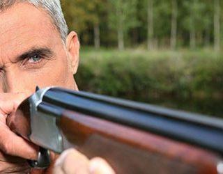 Стрелять из ружья