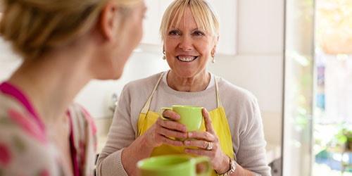 женщины на кухне